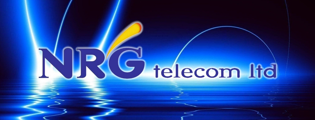 NRG telecom logo mobile solutions energy consultancy computer and network security